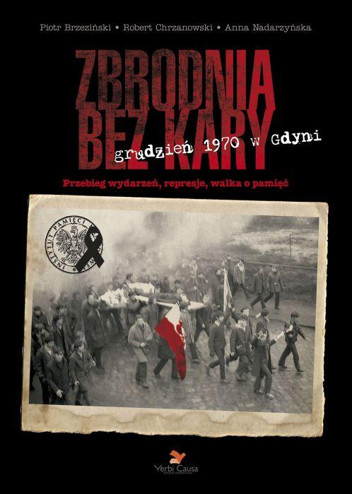 """Okładka książki """"Zbrodnia bez kary"""""""
