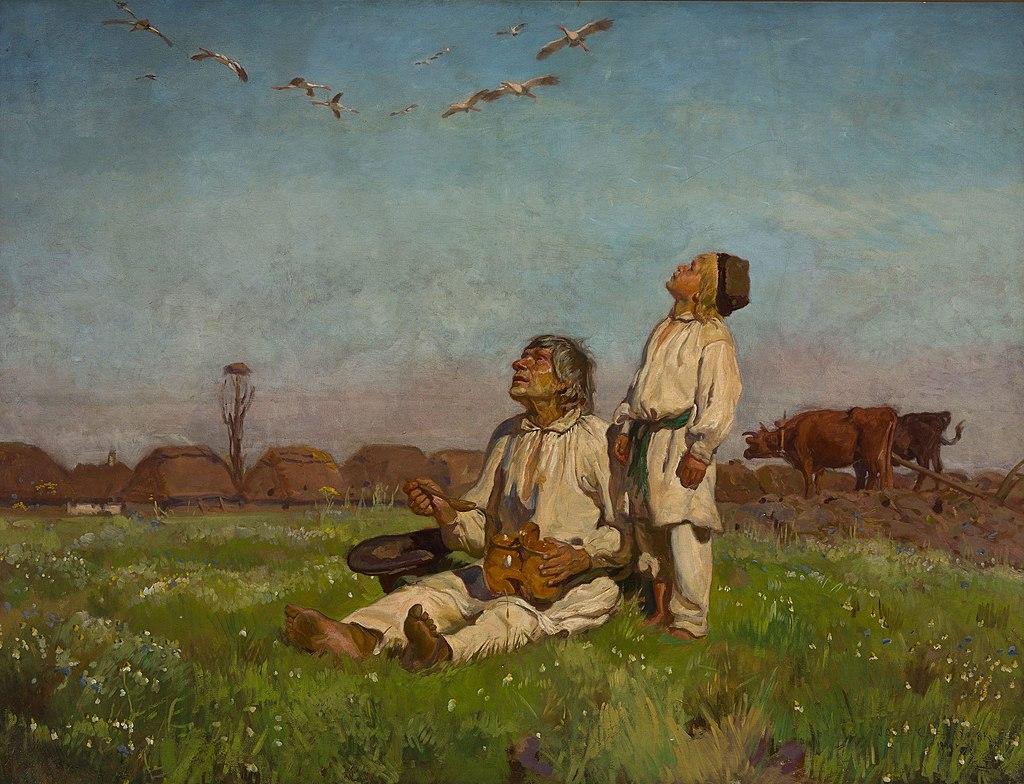 obraz Józefa Chełmońskiego