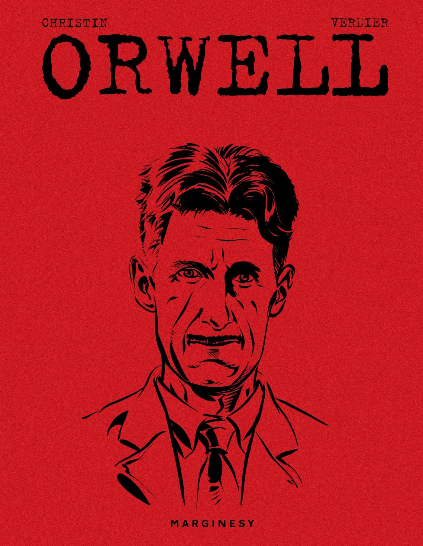 "Okładka książki ""Orwell"""