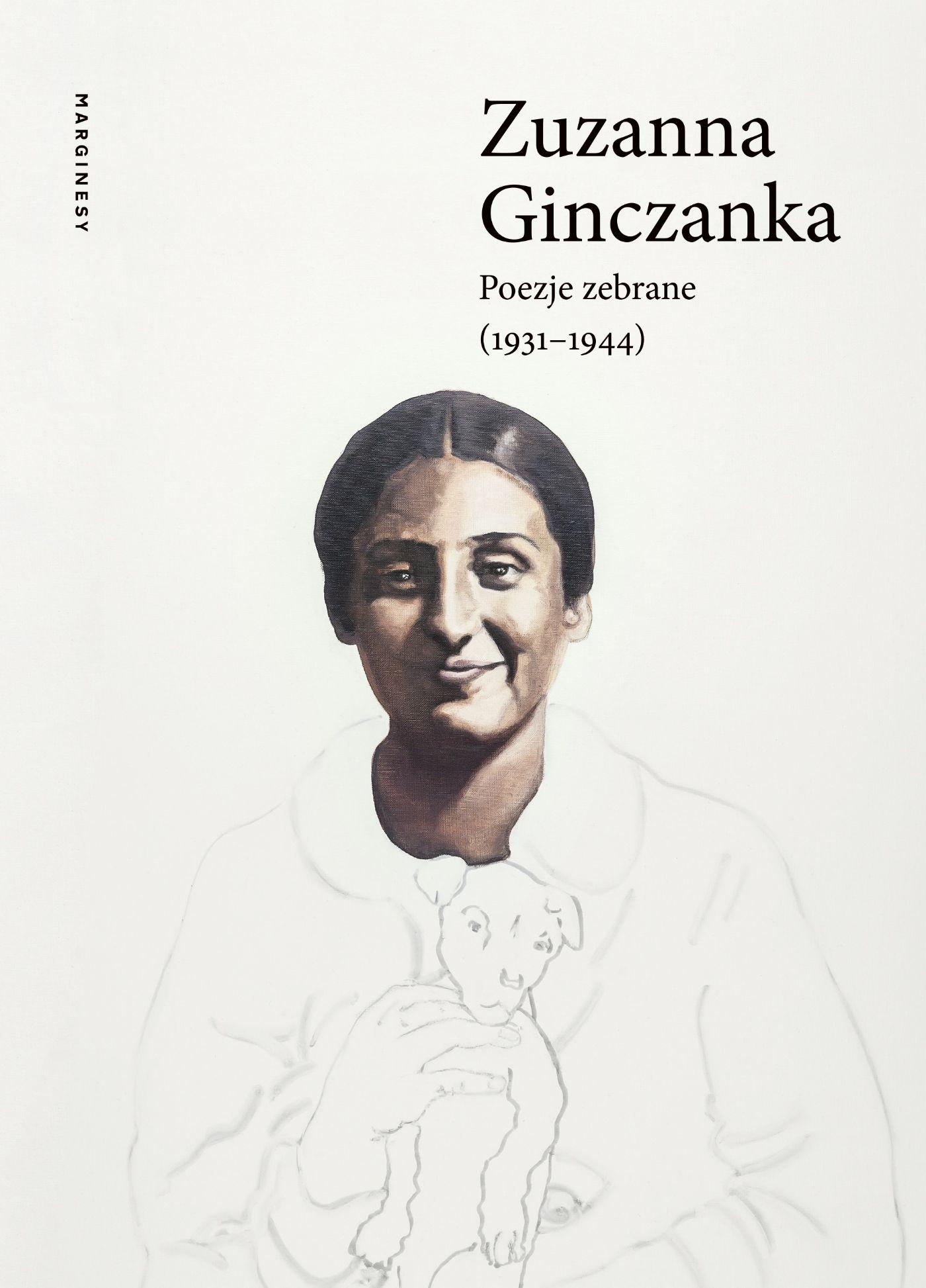 Okładka zbioru poezji Zuzanny Ginczanki