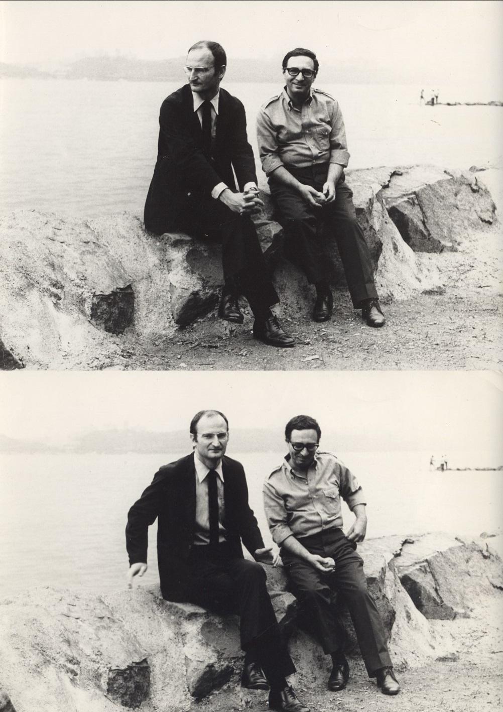 Leopold Tyrmand i Sławomir Mrożek