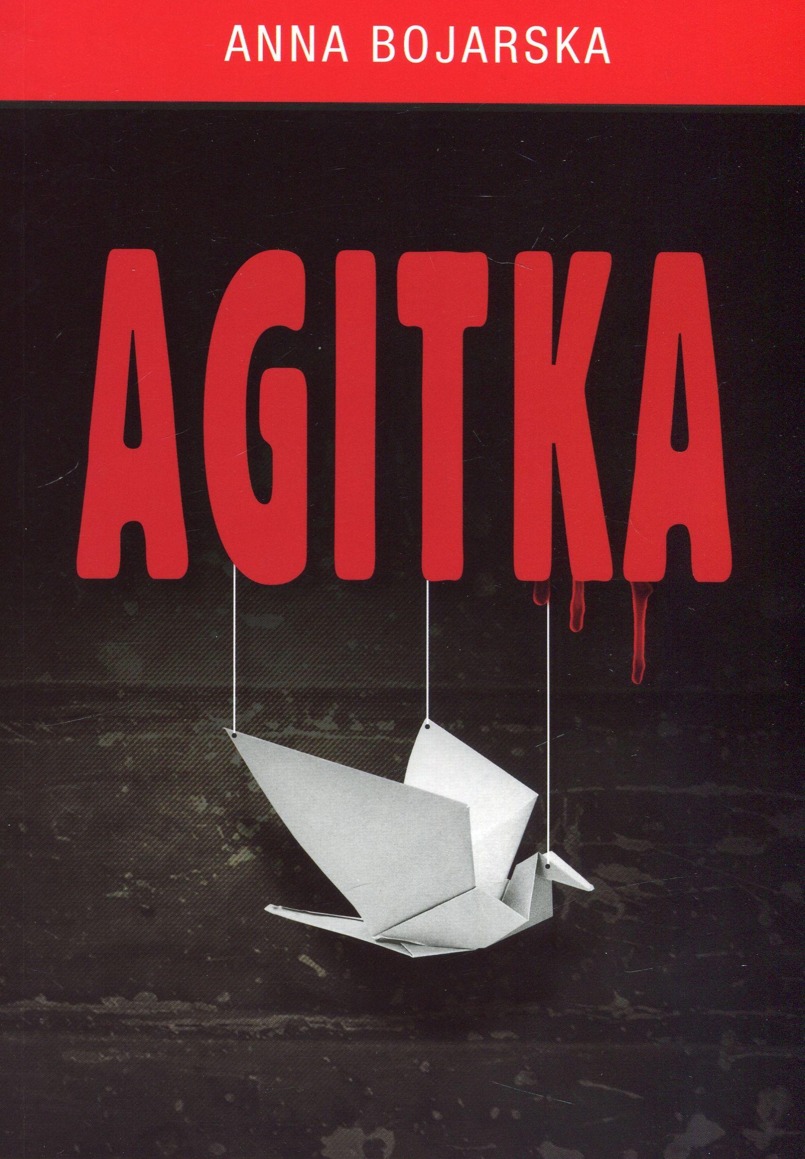 "Okładka książki ""Agitka"""