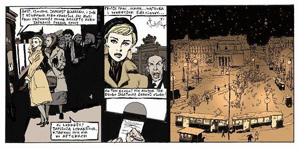 Fragment komiksu Zły