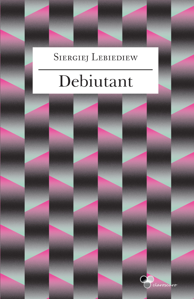 "Okładka książki ""Debiutant"""