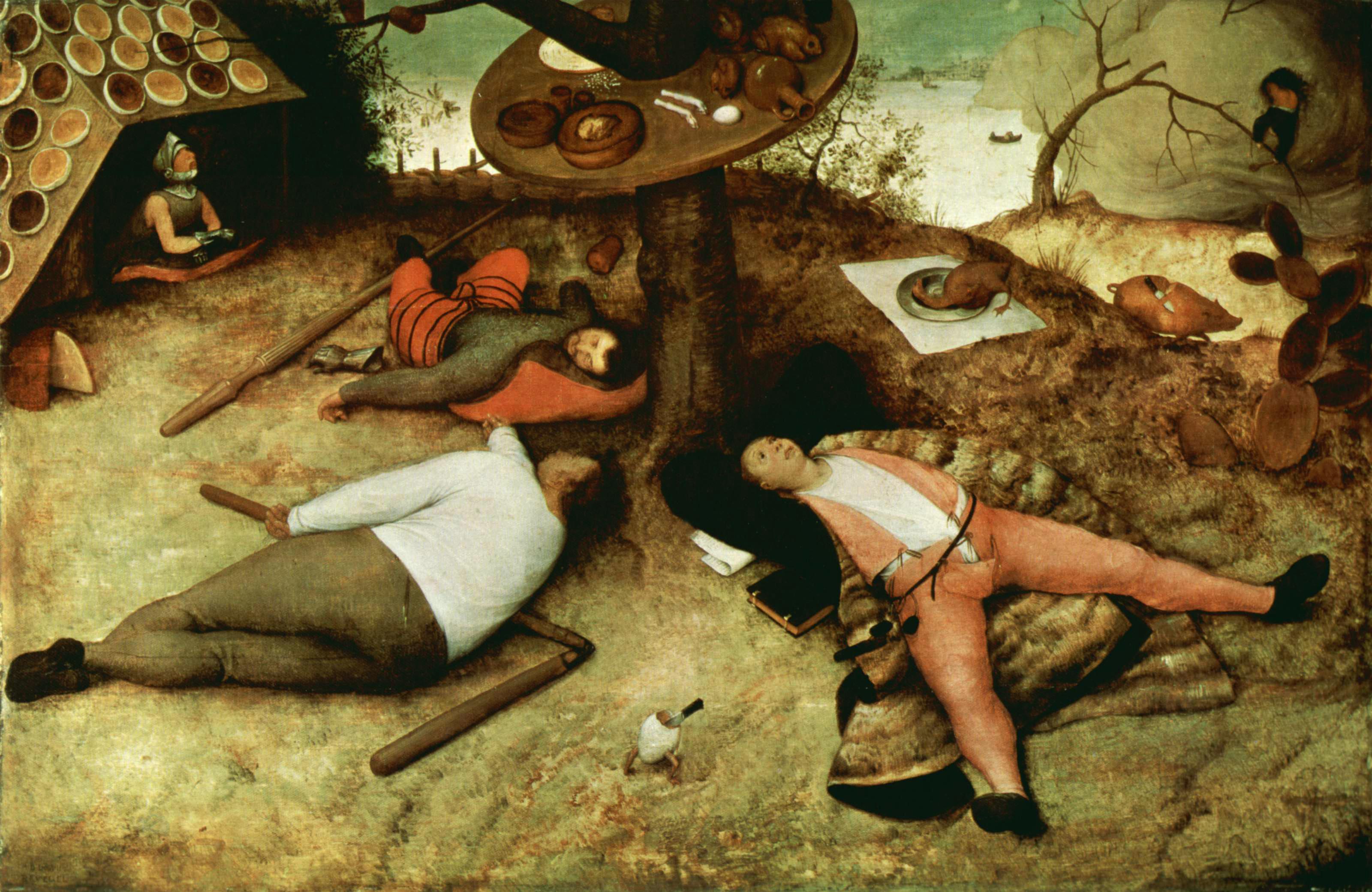 Pieter Bruegel, Kraina szczęśliwości.