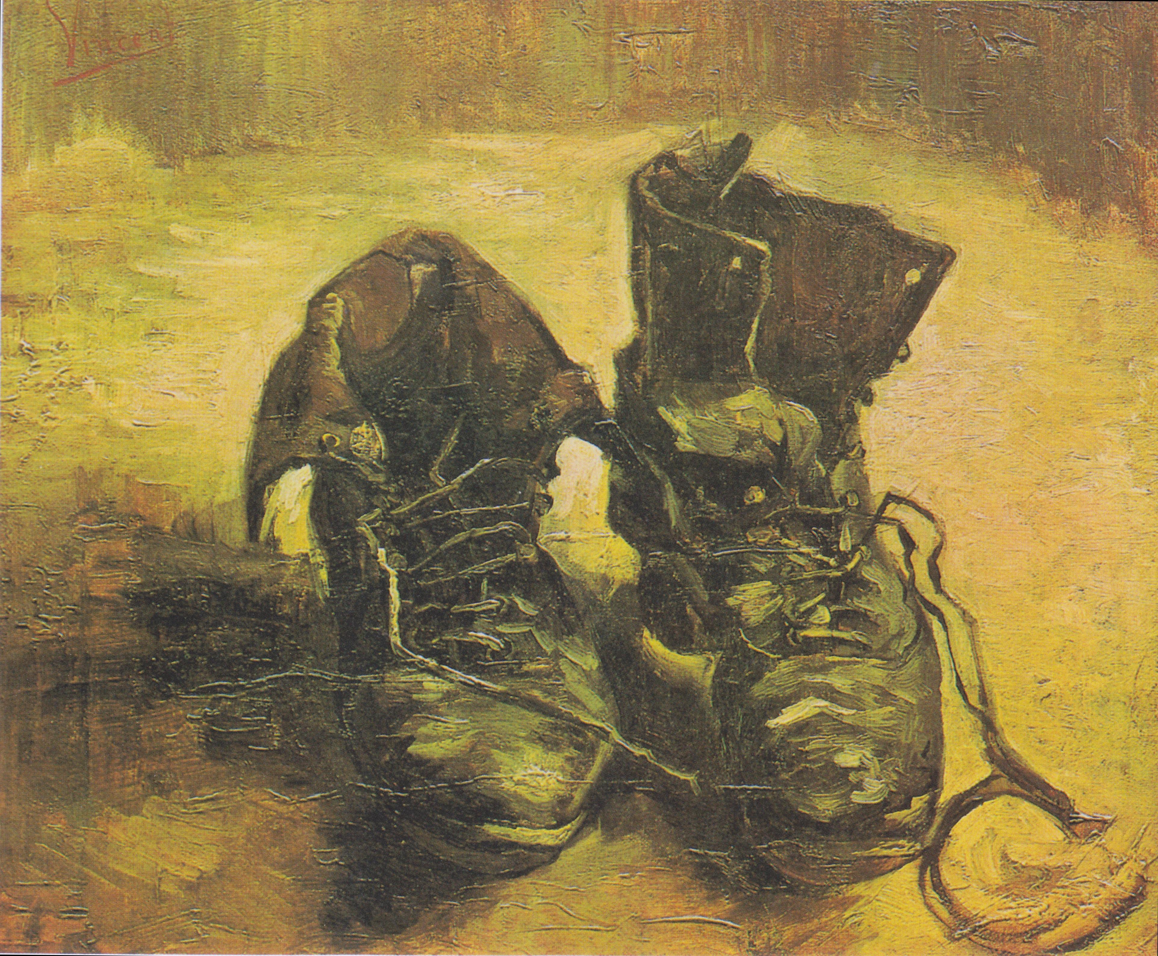 """""""Buty"""", obraz Van Gogha"""