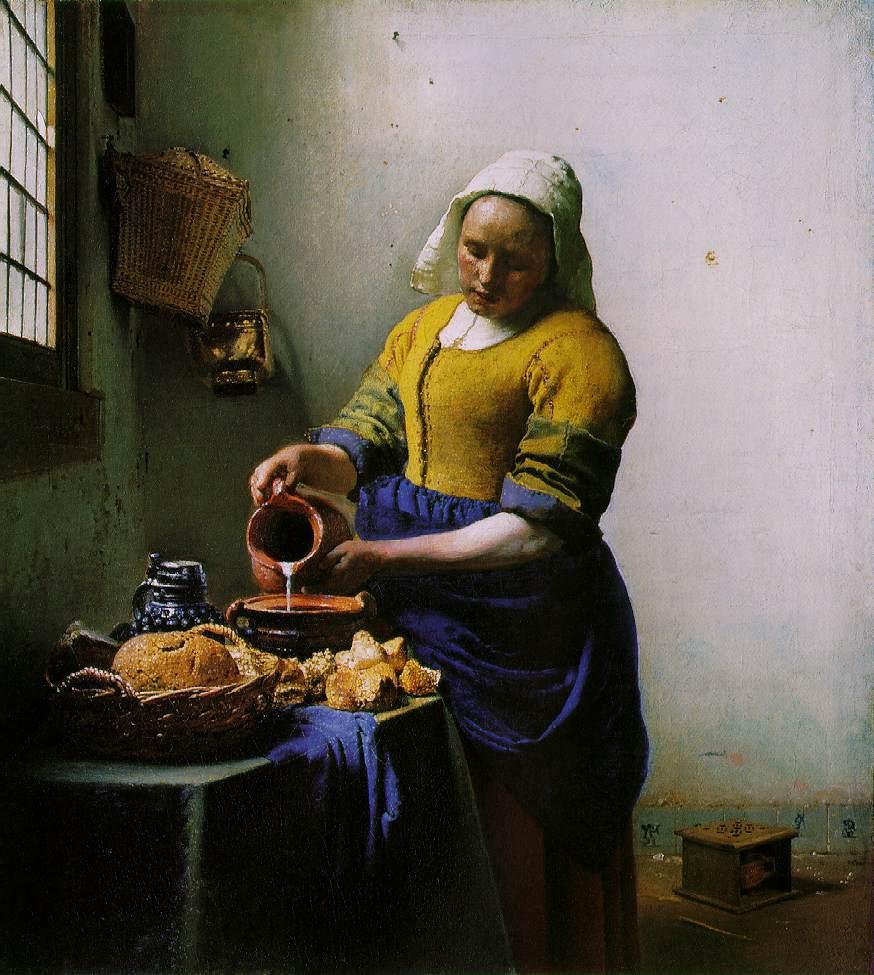 obraz Johannesa Vermeera