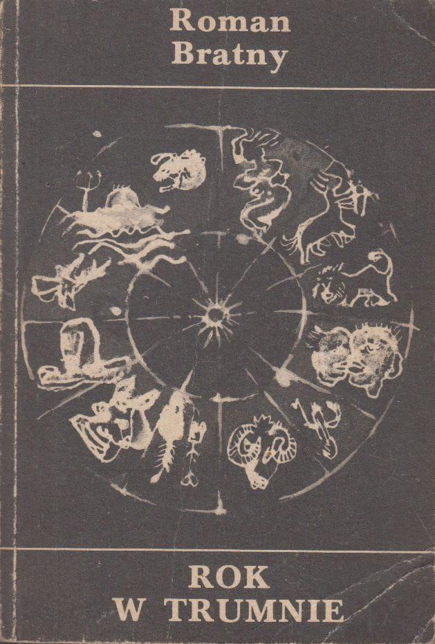 """Okładka książki """"Rok w trumnie"""""""