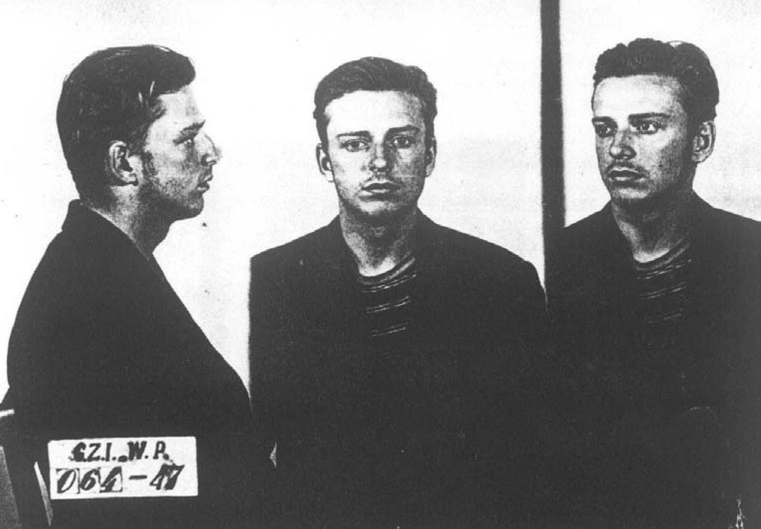 Młody Janusz Krasiński.