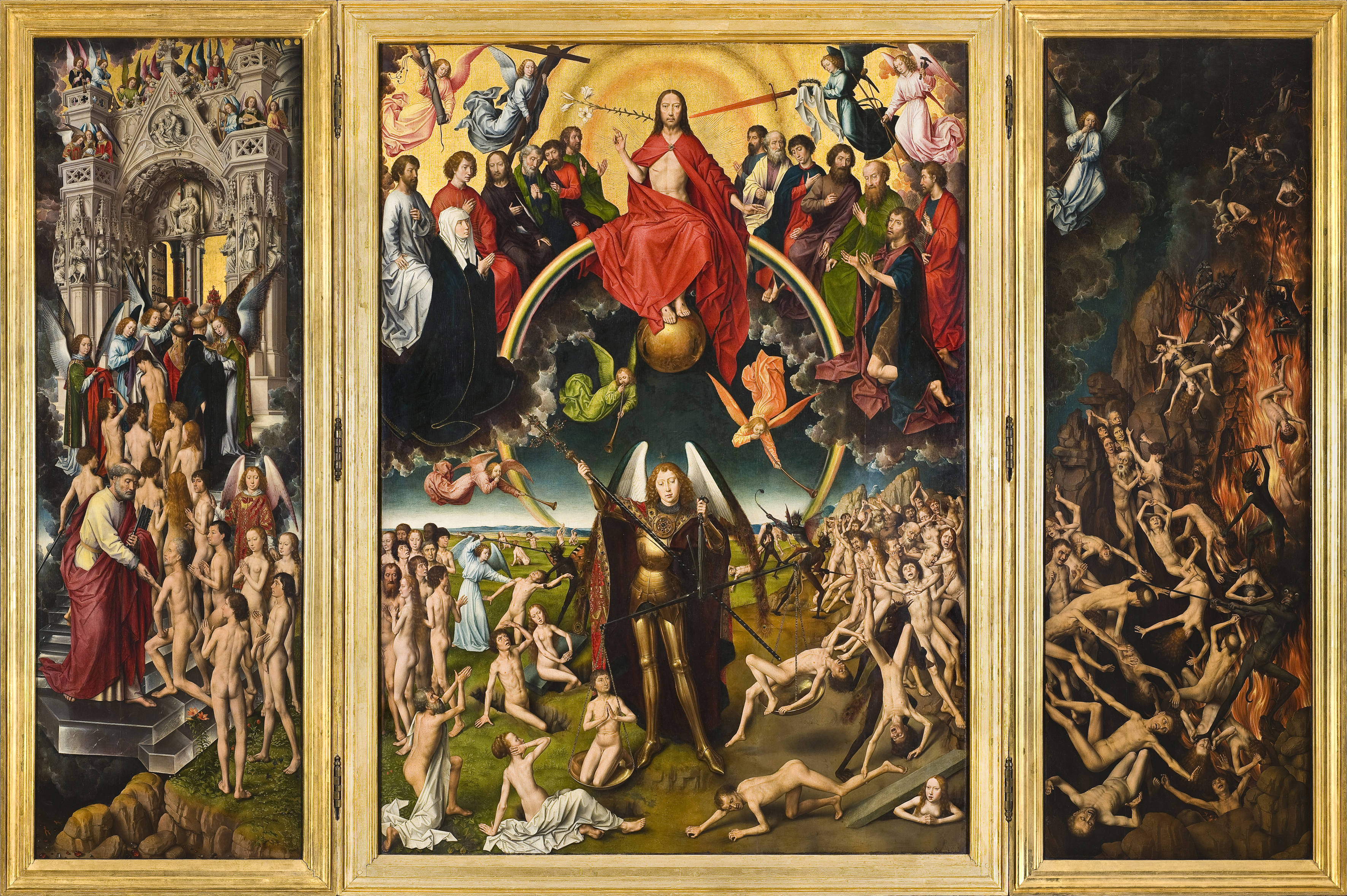 obraz Hansa Memlinga