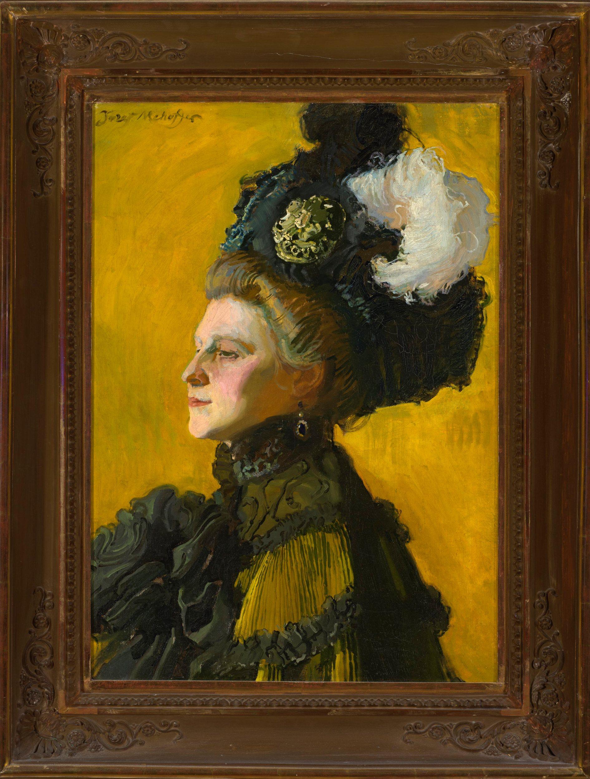 Portret żony artysty, JadwigizJanakowskich