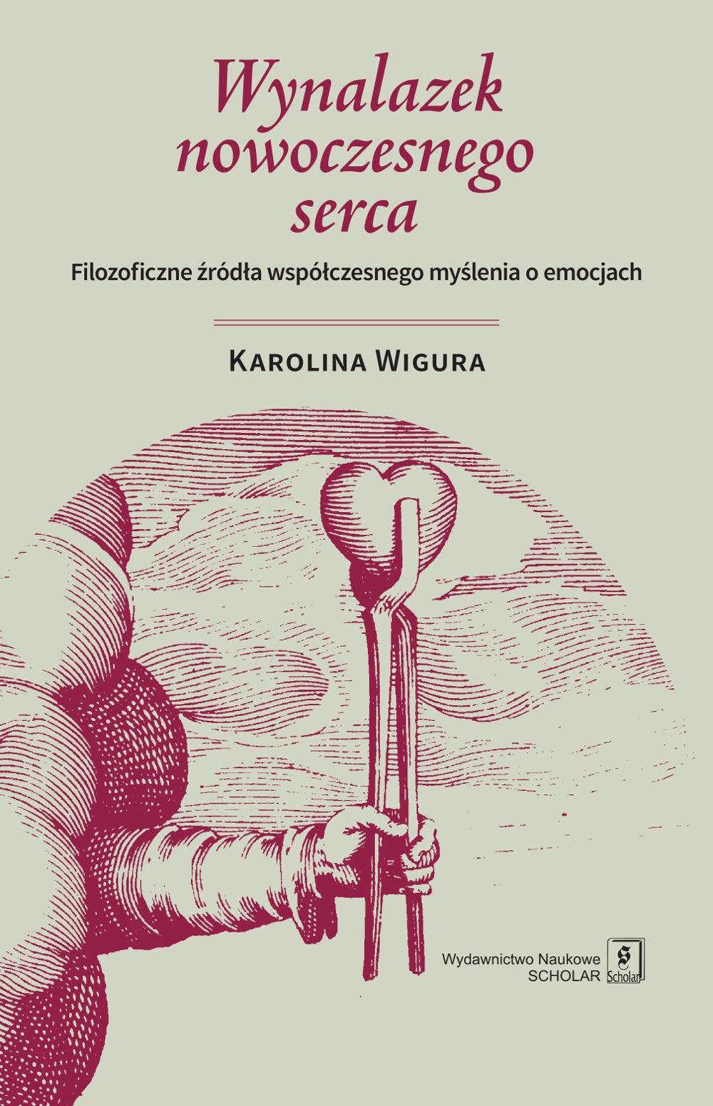 """Okładka książki """"Wynalazek nowoczesnego serca"""""""