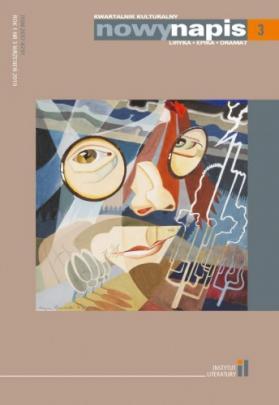 Okładka - Kwartalnik Nowy Napis #3. Kompas Kulturowy