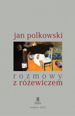Okładka - Rozmowy z Różewiczem