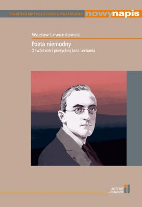 Okładka - Poeta niemodny