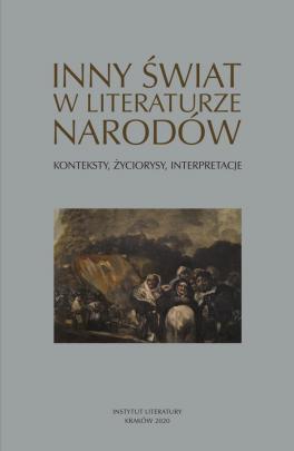 Okładka - Inny świat w literaturze narodów. Konteksty, życiorysy, interpretacje