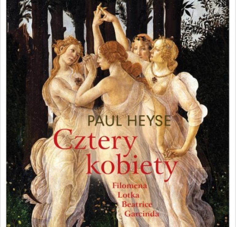 """Okładka książki """"Cztery kobiety"""""""