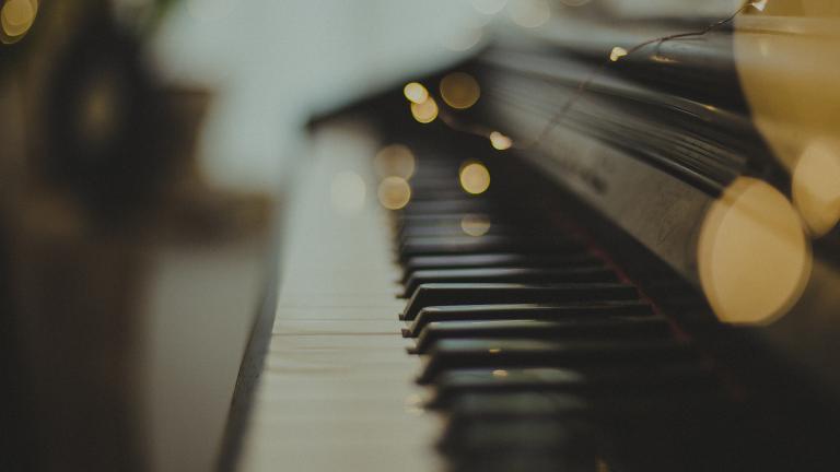 Klawiatura fortepianu