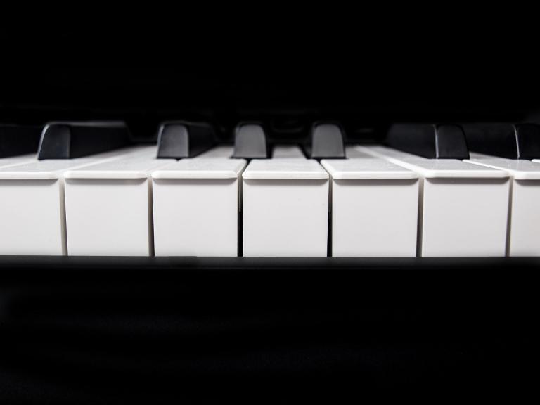 klawisze fortepianiu