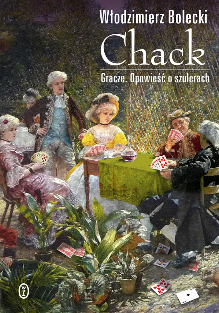 "Okładka książki ""Chack"""