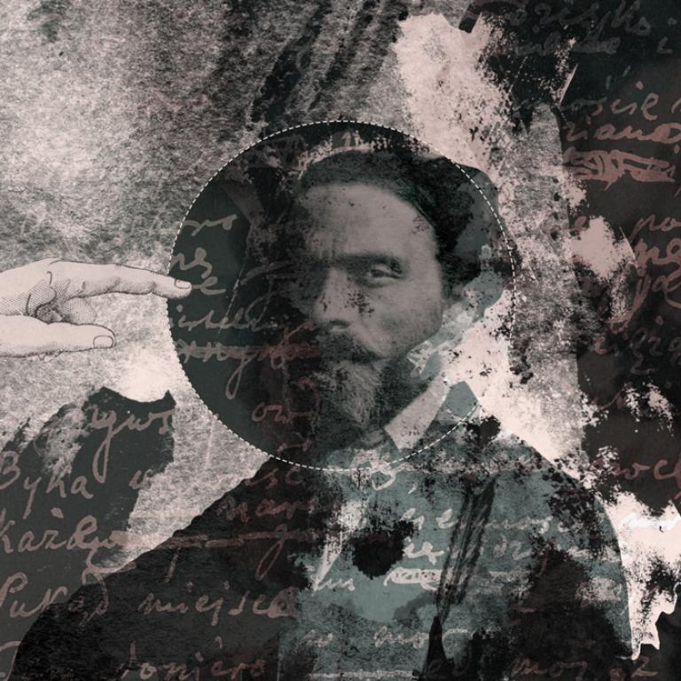 Ilustracja z Norwidem