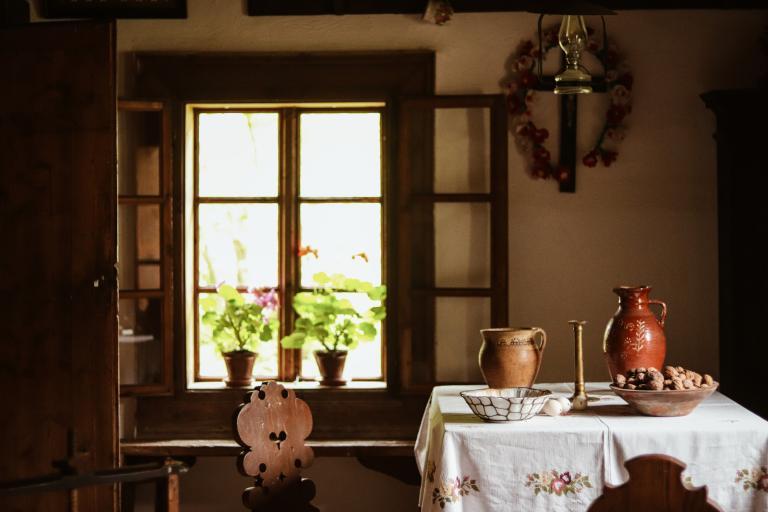 Wnętrze wiejskiego domu