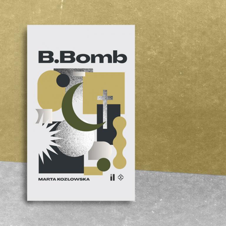 "Okładka książki ""B.Bomb"""