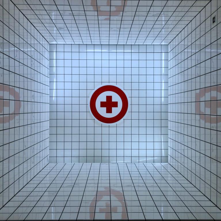 Korytarz szpitala