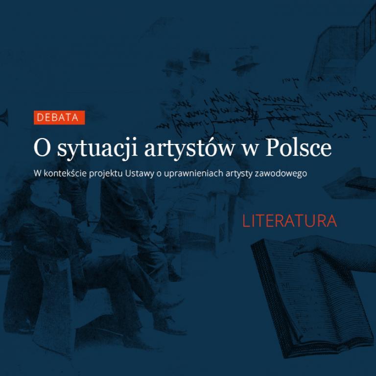 Debata osytuacji artystów wPolsce
