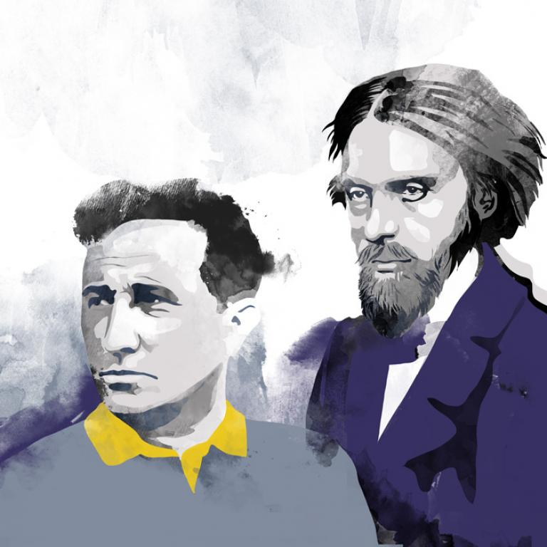 Norwid i Różewicz